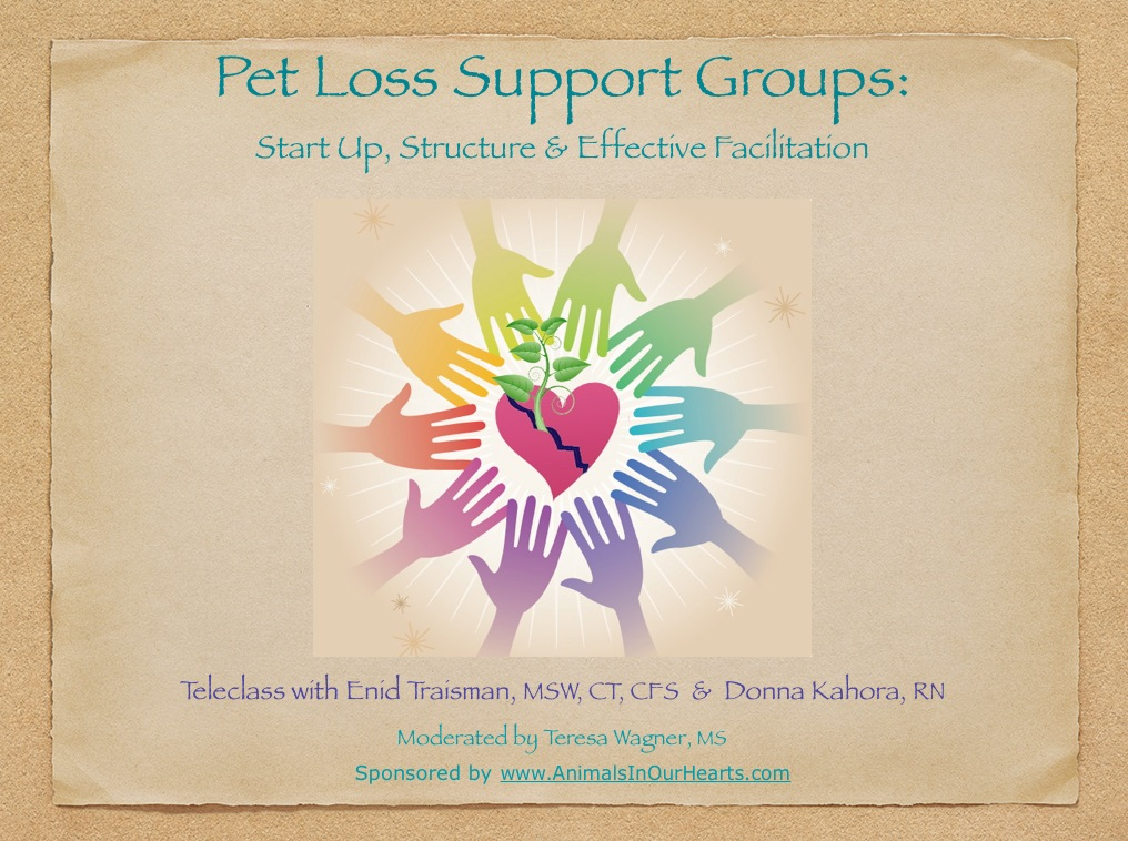 Cover-Pet Loss Support Groups