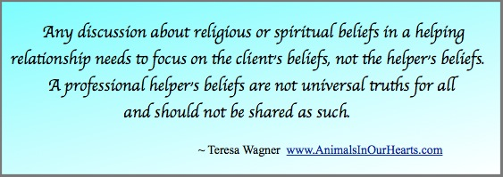 TW Quote Helpers Beliefs Not Everyones