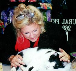 Teresa with Ernie